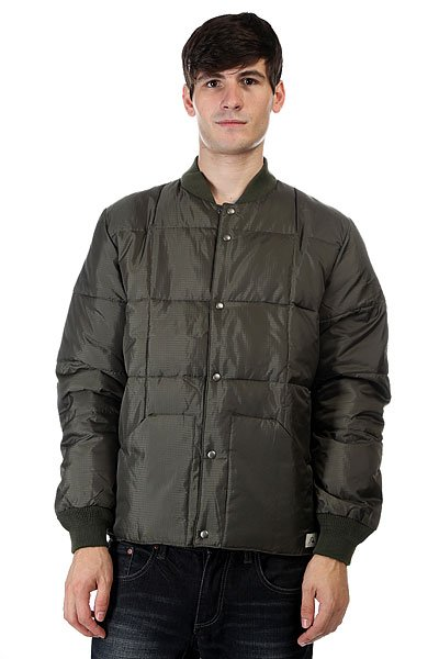 Бомбер Quiksilver Bomber Forest Night