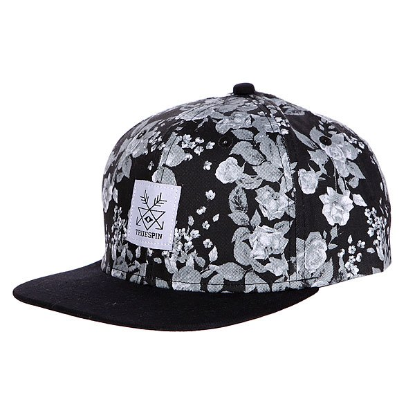 ��������� � ������ ��������� TrueSpin Guns and Roses Snapback Black