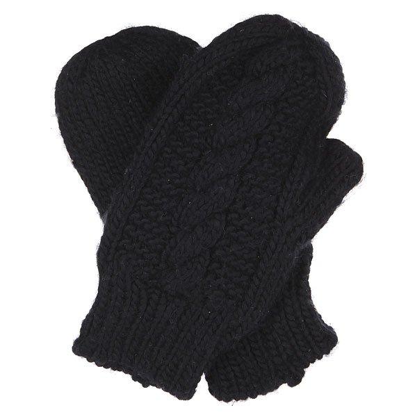 Варежки женские Element Miki Gloves Black<br><br>Цвет: черный<br>Тип: Варежки<br>Возраст: Взрослый<br>Пол: Женский