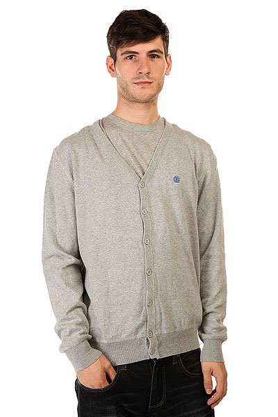 Кардиган Element Pause Grey Heather