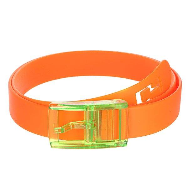 Ремень C4 OrangeСтильный ремень для модников.Характеристики: Изготовлен из силикона.  Классическая застежка-петля.<br><br>Цвет: оранжевый<br>Тип: Ремень<br>Возраст: Взрослый<br>Пол: Мужской