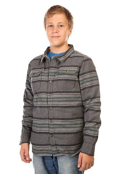 Рубашка утепленная детская Burton Cole Pine Pitkin Strp