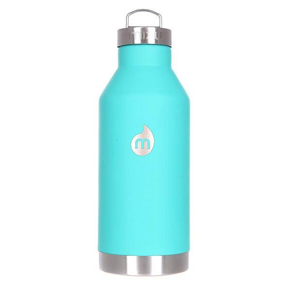 Бутылка для воды Mizu V6 600ml St Mint Le W Steel CapБутылка-термос из пищевой нержавеющей стали для тех, кто заботится об окружающей среде и своем здоровье. Характеристики:Объем бутылки 600мл. Размеры: 7,5 см диаметр, 21,5 см высота. Не для горячих жидкостей, многоразовая, пожизненная гарантия. Имеет специальную форму горлышка для аккуратного налива.<br><br>Цвет: зеленый<br>Тип: Бутылка для воды<br>Возраст: Взрослый