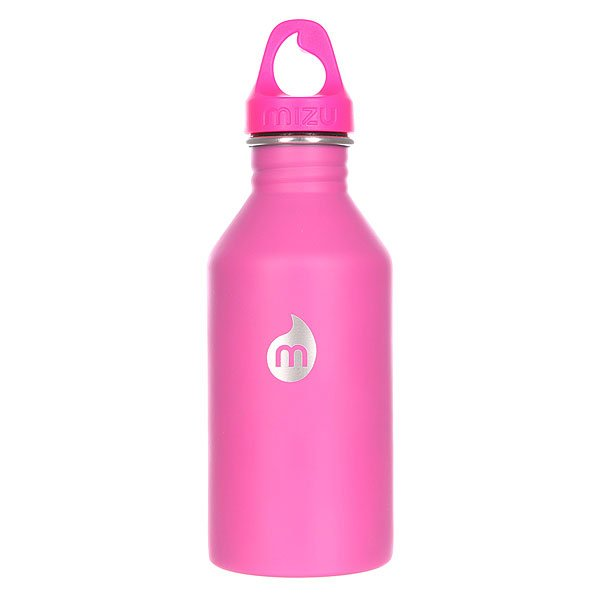 Бутылка для воды Mizu M6 600ml St Pink Le W Pink Loop CapБутылка из пищевой нержавеющей стали для тех, кто заботится об окружающей среде и своем здоровье. Характеристики:Объем: 600 мл. Диаметр: 7 см. Высота (с крышкой): 21,5 см. Специальная форма горлышка для аккуратного налива. Не для горячих жидкостей. Не содержит вредного BPA. Многоразовое использование. Материал: пищевая нержавеющая сталь сорта 18/8. Пожизненная гарантия.<br><br>Цвет: розовый<br>Тип: Бутылка для воды