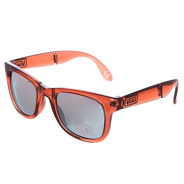 Очки Vans Foldable Spicoli Transparent Orange