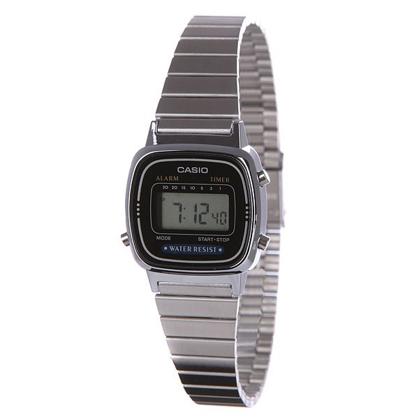 Часы Casio Collection La670wea-1e Grey часы casio collection a 158wea 1e grey