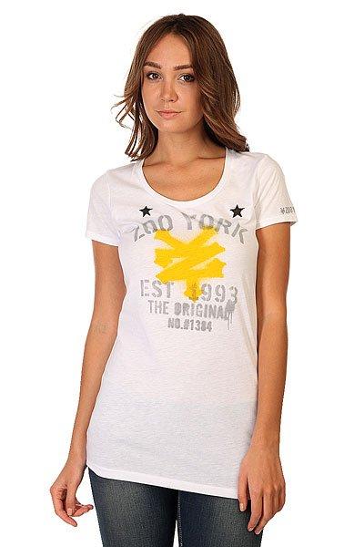 Футболка женская Zoo York Og Stencil White