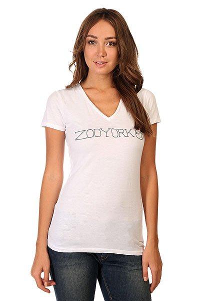 Футболка женская Zoo York Zoo Sketch Bright White