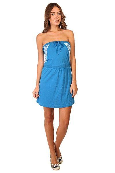 Платье женское Zoo York Mariner Blue<br><br>Цвет: синий<br>Тип: Платье<br>Возраст: Взрослый<br>Пол: Женский