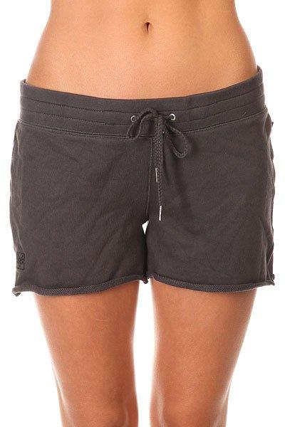 Шорты женские Zoo York Jrs Cozy Shorts Washed Black