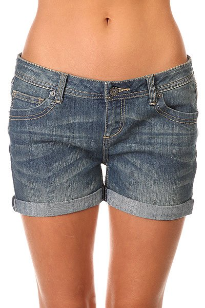 ����� ��������� ������� Zoo York Walkabout Shorts Stacey Med Wash