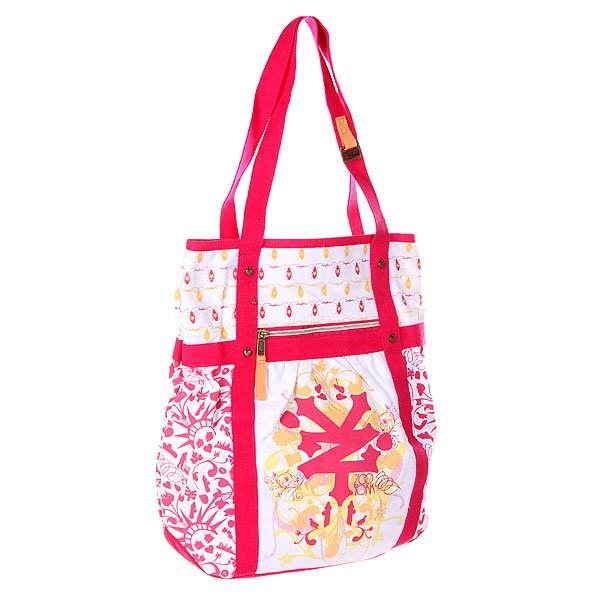 Сумка женская Zoo York Mix It Up Shopper Raspberry