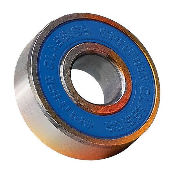 Подшипники для скейтборда Spitfire Bearing Set Classic Abec 3Быстрые подшипники Spitfire для скейтборда. Предназначены для скорости!Технические характеристики: Материал - хромированная сталь и нейлон.В комплекте 8 штук.Индивидуальная упаковка.<br><br>Цвет: синий,серый<br>Тип: Подшипники