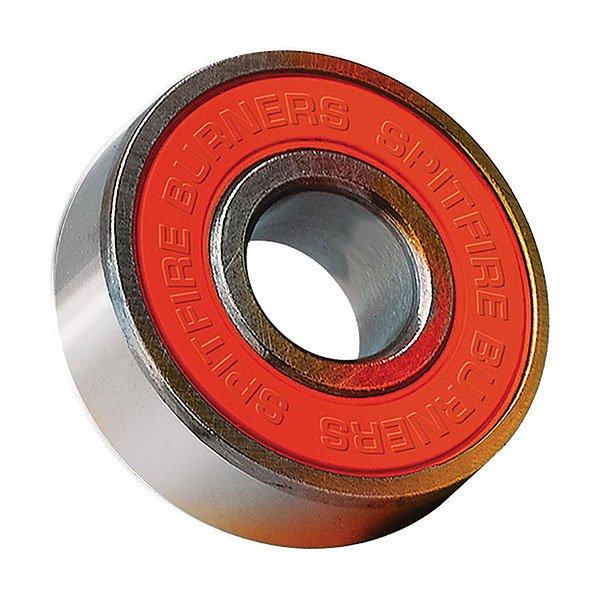 Подшипники для скейтборда Spitfire Bearing Set Burner Abec 3Быстрые  и гладкие подшипники Spitfire для скейтборда. Предназначены для скорости!Технические характеристики: Материал - хромированная сталь и нейлон.В комплекте 8 штук.Индивидуальная упаковка.<br><br>Цвет: серый,оранжевый<br>Тип: Подшипники