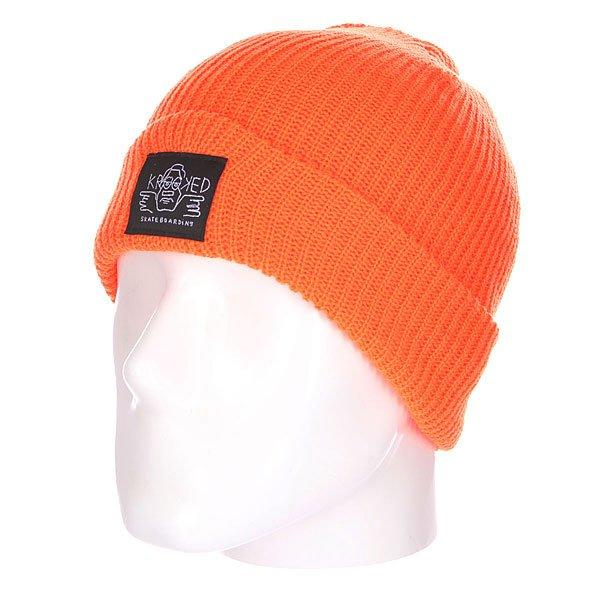 Шапка Krooked Arketype Orange<br><br>Цвет: оранжевый<br>Тип: Шапка<br>Возраст: Взрослый<br>Пол: Мужской