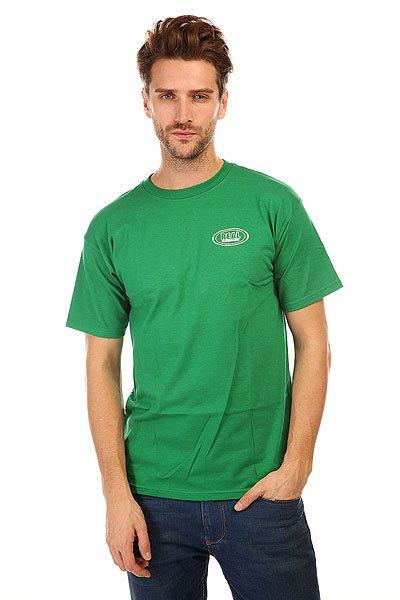 Футболка Real Rl Stack Flor Prem. Green<br><br>Цвет: зеленый<br>Тип: Футболка<br>Возраст: Взрослый<br>Пол: Мужской