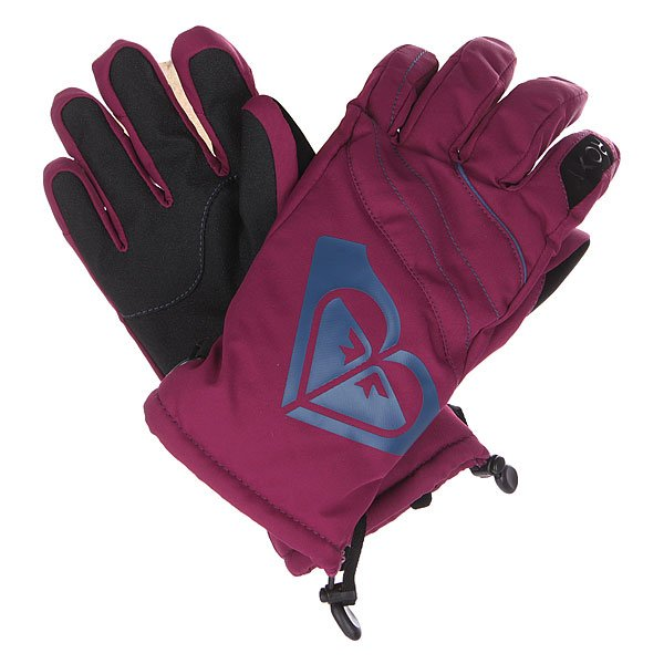 �������� ��������������� ������� Roxy Popi Gloves Magenta Purple