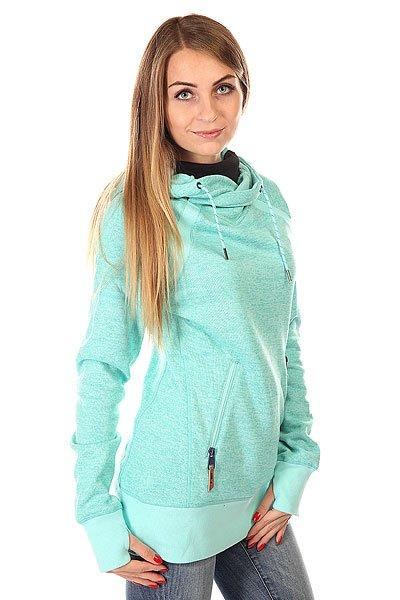 Толстовка сноубордическая женская DC Cleo J Aruba Blue
