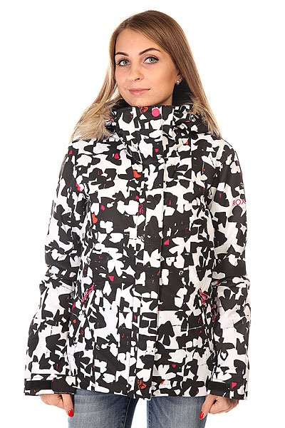 Куртка женская Roxy Jet Ski Jk J Snjt Flower Pop