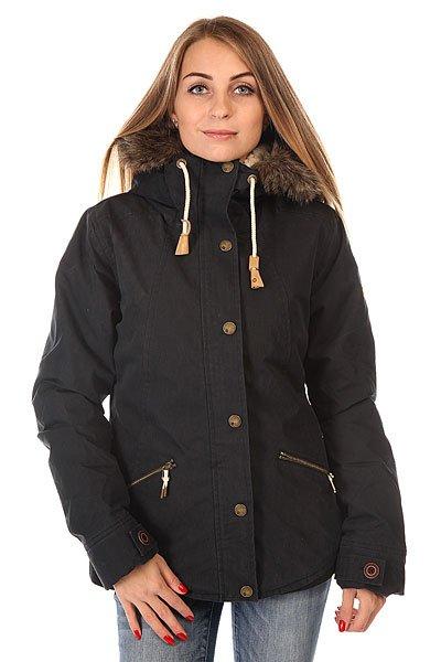 Куртка парка женская Roxy Steffi Jk True Black куртка парка женская roxy ferley j military olive