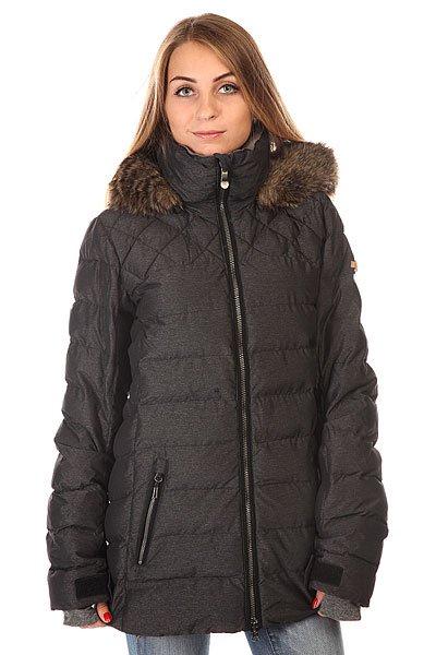 Куртка женская Roxy Quinn Jk J Snjt Anthracite BIOTHERM