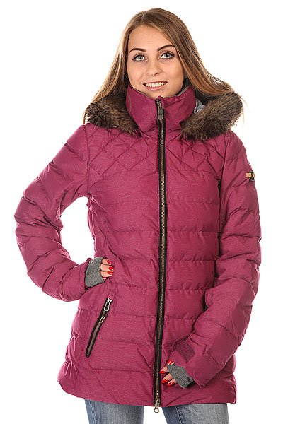 Куртка женская Roxy Quinn Jk J Snjt Magenta Purple BIOTHERMТехнологичная катальная, а также супер-теплая куртка &amp;ndash; отлично обеспечит защиту на целый день!    Данная куртка входит в линейку уникальной капсульной коллекции, созданную благодаря усилиям Roxy и Biotherm &amp;ndash; ENJOY &amp;amp; CARE. Специальная пропитка внутренней части гейтора или воротника куртки, ухаживает за кожей во время катания.    Технологичность:  &amp;nbsp; &amp;middot;&amp;nbsp;&amp;nbsp;&amp;nbsp;&amp;nbsp;&amp;nbsp;&amp;nbsp;&amp;nbsp;&amp;nbsp; Система Dry Flight, благодаря которой ткань не пропускает воду внутрь и отлично дышит &amp;middot;&amp;nbsp;&amp;nbsp;&amp;nbsp;&amp;nbsp;&amp;nbsp;&amp;nbsp;&amp;nbsp;&amp;nbsp; Мембрана 10K &amp;middot;&amp;nbsp;&amp;nbsp;&amp;nbsp;&amp;nbsp;&amp;nbsp;&amp;nbsp;&amp;nbsp;&amp;nbsp; Critically &amp;ndash; все критические швы проклеены &amp;middot;&amp;nbsp;&amp;nbsp;&amp;nbsp;&amp;nbsp;&amp;nbsp;&amp;nbsp;&amp;nbsp;&amp;nbsp; Система 1-Way hood &amp;ndash; регулировка капюшона по глубине &amp;middot;&amp;nbsp;&amp;nbsp;&amp;nbsp;&amp;nbsp;&amp;nbsp;&amp;nbsp;&amp;nbsp;&amp;nbsp; Снегозащитная юбка с креплениями &amp;middot;&amp;nbsp;&amp;nbsp;&amp;nbsp;&amp;nbsp;&amp;nbsp;&amp;nbsp;&amp;nbsp;&amp;nbsp; Моментальный доступ к карману с MP3 плеером (media) &amp;middot;&amp;nbsp;&amp;nbsp;&amp;nbsp;&amp;nbsp;&amp;nbsp;&amp;nbsp;&amp;nbsp;&amp;nbsp; Карман для маски (Goggle) &amp;middot;&amp;nbsp;&amp;nbsp;&amp;nbsp;&amp;nbsp;&amp;nbsp;&amp;nbsp;&amp;nbsp;&amp;nbsp; Манжеты из лайкры (hammocks) &amp;middot;&amp;nbsp;&amp;nbsp;&amp;nbsp;&amp;nbsp;&amp;nbsp;&amp;nbsp;&amp;nbsp;&amp;nbsp; Вентиляционные отверстия на молниях &amp;ndash; ventings по швам &amp;middot;&amp;nbsp;&amp;nbsp;&amp;nbsp;&amp;nbsp;&amp;nbsp;&amp;nbsp;&amp;nbsp;&amp;nbsp; Новейший технологичный утеплитель &amp;ndash; 3М thinsulate FEathERLESS 350 Грамм/ 600 грамм<br><br>Цвет: фиолетовый<br>Тип: Куртка утепленная<br>Возраст: Взрослый<br>Пол: Женский