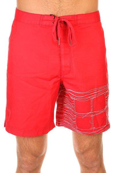 Шорты пляжные Insight Logo Red<br><br>Цвет: красный<br>Тип: Шорты пляжные<br>Возраст: Взрослый<br>Пол: Мужской