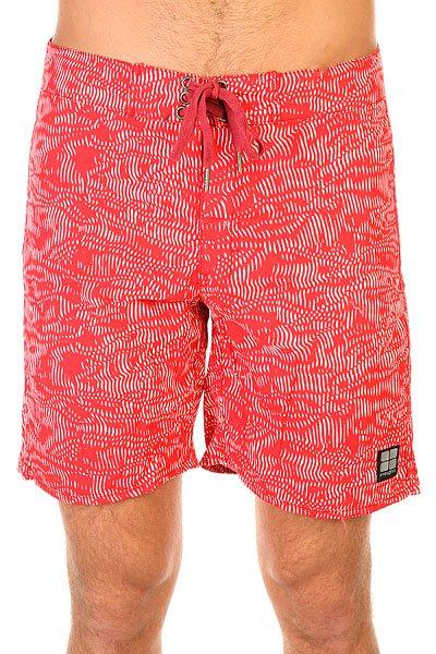 Шорты пляжные Insight Hypno Beet<br><br>Цвет: красный,белый<br>Тип: Шорты пляжные<br>Возраст: Взрослый<br>Пол: Мужской