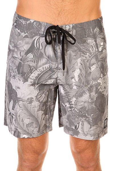 Шорты пляжные Insight Leaf Black<br><br>Цвет: серый<br>Тип: Шорты пляжные<br>Возраст: Взрослый<br>Пол: Мужской