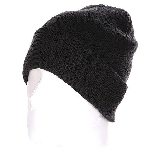 Шапка Quiksilver Brigade Beanie Black<br><br>Цвет: черный<br>Тип: Шапка<br>Возраст: Взрослый<br>Пол: Мужской