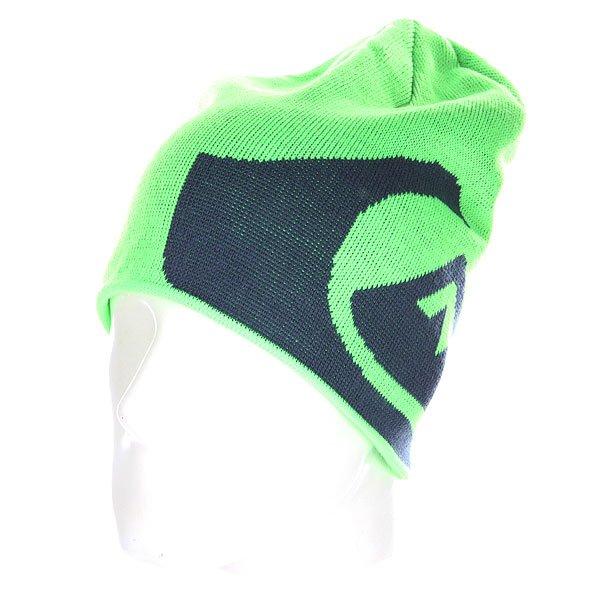 Шапка носок Quiksilver Fots M&w Beanie Green Gecko
