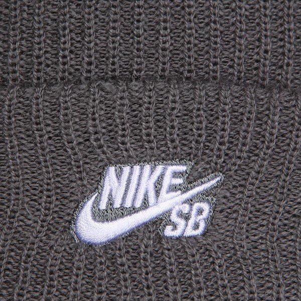 Шапка Nike Sb Fisherman Tumbled Gray/White от Proskater
