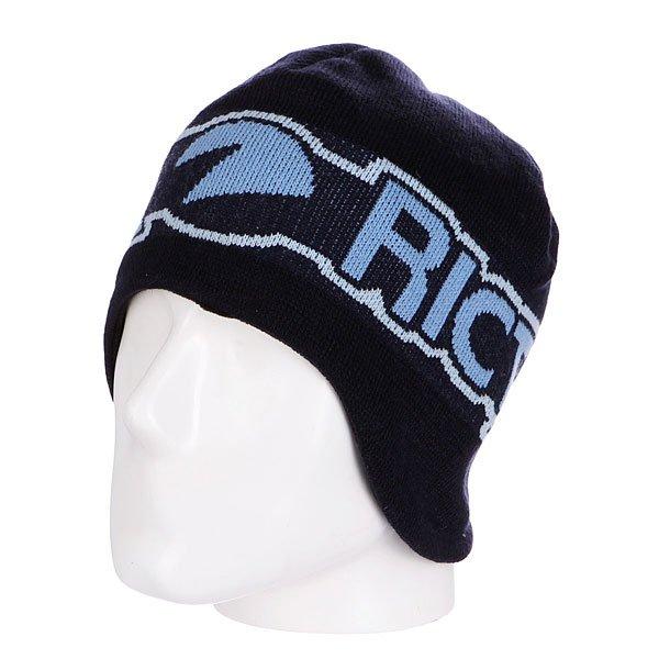 Шапка Santa Cruz Division Ricta<br><br>Цвет: синий<br>Тип: Шапка<br>Возраст: Взрослый<br>Пол: Мужской
