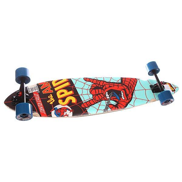 купить Лонгборд Santa Cruz Marvel Hand Pintail Cruzer Spiderman 9.58 x 39 (99 см) недорого