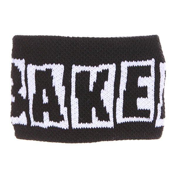 Напульсники Baker Brand Logo Black<br><br>Цвет: черный<br>Тип: Напульсники<br>Возраст: Взрослый<br>Пол: Мужской
