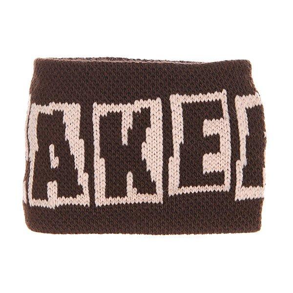 Напульсники Baker Brand Logo Brown