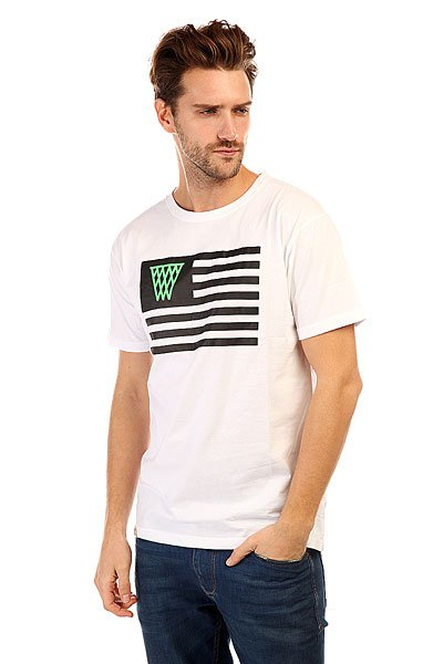 �������� K1X Noh Flag Tee White/Black
