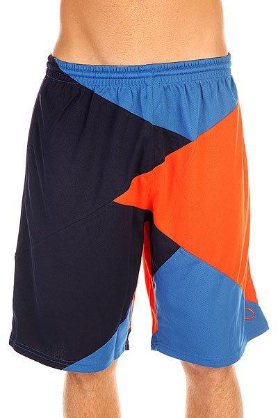 Шорты пляжные K1X Zaggamuffin Shorts Navy/Flame/Blue<br><br>Цвет: синий,оранжевый<br>Тип: Шорты пляжные<br>Возраст: Взрослый<br>Пол: Мужской