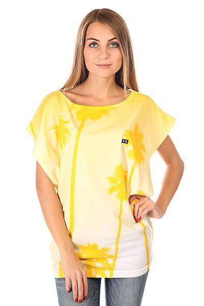 ��� ������� K1X L.a. 80 S Top White/Yellow