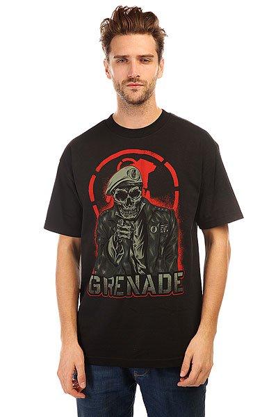 Футболка Grenade Enlister Black<br><br>Цвет: черный<br>Тип: Футболка<br>Возраст: Взрослый<br>Пол: Мужской