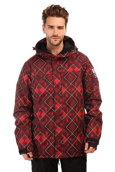 Куртка Grenade Rad Plaid RedОтличная сноубордическая куртка для комфортного катания.Характеристики:Внутренняя ткань – тафта. Фиксированный капюшон. Двойная застежка – молния.Внешние карманы для рук.  Карман для медиа-плеера. Эластичные лайкровые манжеты с прорезями для больших пальцев. Снегозащитная «юбка».Потайная регулировка подола.Регулируемые манжеты на липучках. Фасон: стандартный (regular fit).<br><br>Цвет: красный<br>Тип: Куртка утепленная<br>Возраст: Взрослый<br>Пол: Мужской