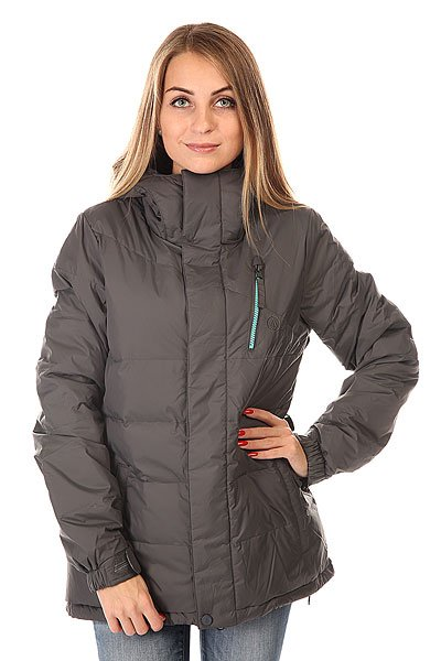 Куртка женская Volcom Powder Puff Down Jacket Brushed Nickel
