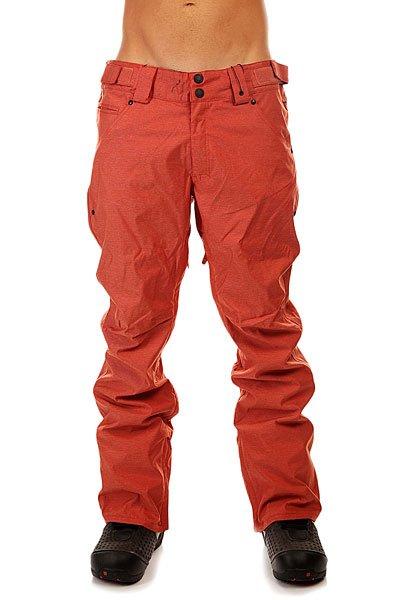 Штаны сноубордические Thirty Two Wooderson Pant Anlo Burnt OrangeСноубордические штаны от бренда  Thirty Two  отличаются простотой и функциональностью. В них есть все, что нужно райдеру - свободный крой не стесняющий движений, вентиляция, а также возможность быстро подвернуть края, чтобы избежать загрязнения.Технические характеристики:Проклеенные швы.Вентиляционные отверстия на молнии.Карманы для рук.Петли для ремня.Задние карманы.Регулировка талии.Регулируемые края штанин на молнии.Внутренние манжеты.Фасон - стандартный (regular fit).<br><br>Цвет: оранжевый<br>Тип: Штаны сноубордические<br>Возраст: Взрослый<br>Пол: Мужской