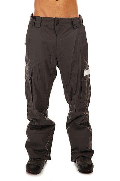 Штаны сноубордические Thirty Two Blahzay Pant CarbonСтильные и просторные штаны Thirty Two Blahzay. В них есть все, что нужно райдеру - свободный крой не стесняющий движений, вентиляция, а также возможность быстро подвернуть края, чтобы избежать загрязнения.Технические характеристики:Проклеенные швы.Вентиляционные отверстия на молнии.Вместительные карманы для рук.Накладные карманы-карго с принтом.Петли для ремня.Задние карманы.Регулировка талии.Регулируемая ширина штанин.Система подтягивая края штанин.Внутренние манжеты.Фасон - свободный (relaxed fit).<br><br>Цвет: серый<br>Тип: Штаны сноубордические<br>Возраст: Взрослый<br>Пол: Мужской