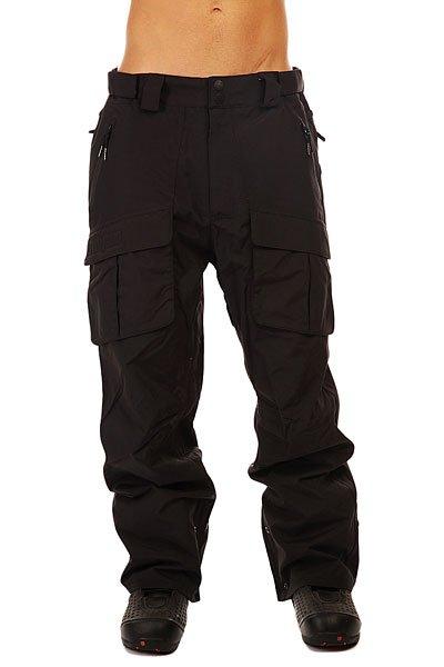 Штаны сноубордические Thirty Two Conquest Pant Black штаны сноубордические женские oakley new karing pant purple shade