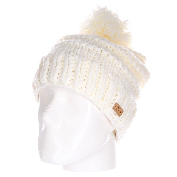 Шапка женская Roxy Winter Beanie White roxy гейтор roxy winter true black fw17