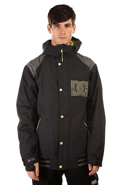 Куртка DC Dcla Jkt Anthracite куртки dc shoes куртка