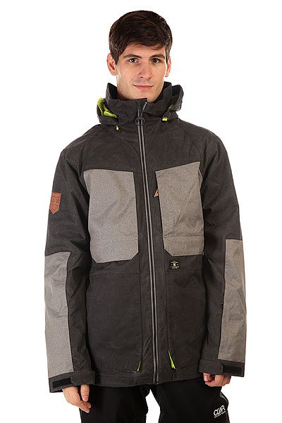 Куртка DC Kingdom Jkt Anthracite