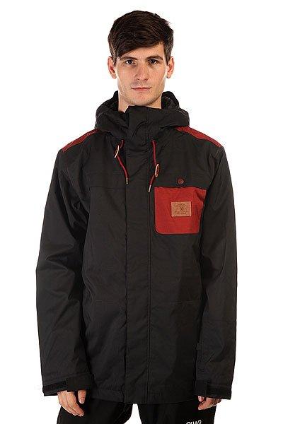 Куртка DC Delinquent Jkt AnthraciteЛаконичный дизайн с контрастным нагрудным карманом и достаточно свободный крой, не стесняющий движений. Если Вы искали куртку, готовую защитить Вас от снега, ветра и слякоти, то DC Delinquent готова выполнить Ваши требования. Эта куртка создана для комфорта и уютного катания, не взирая на капризы погоды.  Технические характеристики: Утеплитель - 3M™ Thinsulate™(80гр).Подкладка - тафта.Водонепроницаемая мембрана Exotex 10K(10 000 мм/10 000 г).Проклеенные швы.Фиксированный капюшон с регулировкой.Высокий воротник - стойка.Два боковых кармана на кнопках.Карман для ски-пасса.Внутренний сетчатый карман.Карман для медиа.Фиксированная снежная юбка.Регулируемые манжеты на липучках.Регулируемый подол на резинке.Застежка - молния+липучки.Фасон: стандартный (regular fit).<br><br>Цвет: черный<br>Тип: Куртка утепленная<br>Возраст: Взрослый<br>Пол: Мужской
