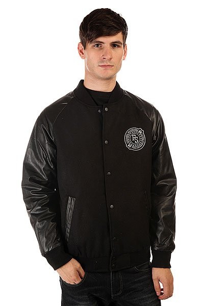 Бомбер Footwork F14 Premium Varsity Black